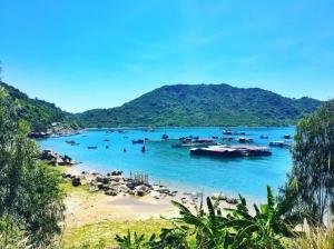Vẻ đẹp hiền hòa an bình bên bờ biển Đại Lãnh Nha Trang