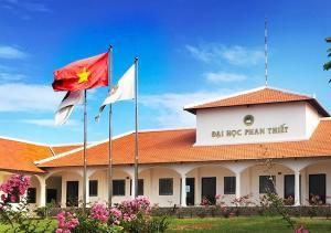 Ngắm trường Đại Học Phan Thiết với kiến trúc độc đáo