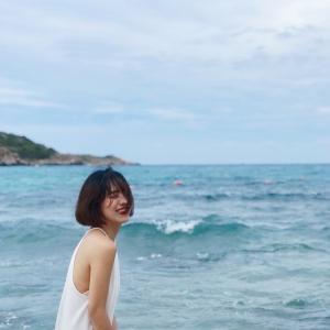 Lênh đênh hoàng hôn trên biển Bình Ba