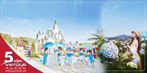 Tour du lịch Nha Trang Đà Lạt 5 ngày 4 đêm: Vinpearl - Vườn Hoa Cẩm Tú Cầu