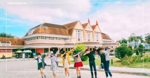 Khám phá kiến trúc độc đáo của nhà Ga Đà Lạt cổ nhất Việt Nam