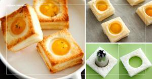 Bánh trứng cút nướng món ăn sáng hấp dẫn, lạ mắt