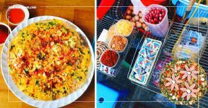 Thưởng thức món ăn vặt bánh tráng nướng Đà Lạt cực ngon
