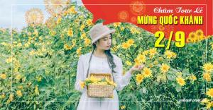 Tour du lịch Đà Lạt lễ Quốc Khánh 2/9/2020