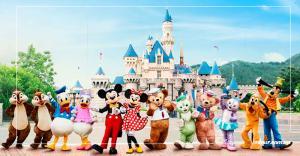 Tour du lịch HongKong 5 ngày 4 đêm:Disneyland -  Đặng Nhĩ Sơn