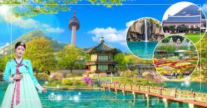 Tour du lịch Hàn Quốc - Seoul -  Eveland - Nami 5 ngày 4 đêm