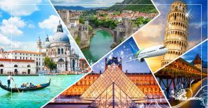 Tour du lịch Pháp - Bỉ - Hà Lan - Đức 10 ngày 9 đêm