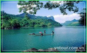 Tour Du Lịch Hà Nội 5 ngày 4 đêm: Thác Bản Giốc - Hồ Ba Bể - Động Ngườm Ngao – Suối LÊ NIN