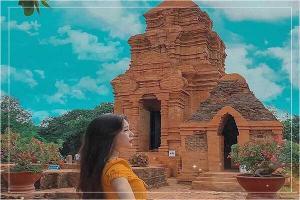 Khám phá nét huyền bí của Tháp Chàm Poshanư ở Phan Thiết