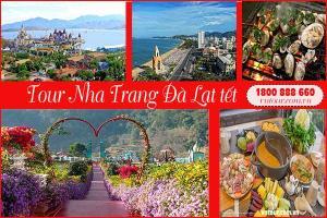 Tour du lịch Nha Trang Đà Lạt Tết Nguyên Đán 2022