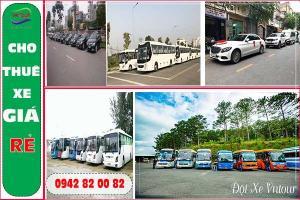 Cho thuê xe giá rẻ, chất lượng- Bảng giá chi tiết