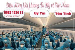 Dịch vụ hồi hương cho Việt Kiều, du học sinh từ Mỹ về Việt Nam an toàn