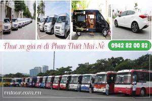 Thuê xe đi Phan Thiết Mũi Né giá rẻ - Cho thuê xe từ 4-45 chỗ chất lượng