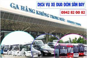 Dịch vụ xe đưa đón sân bay-  Xe đón tiễn sân bay giá rẻ