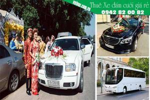 Thuê xe đi đám cưới Tiền Giang- Kinh nghiệm thuê xe giá rẻ