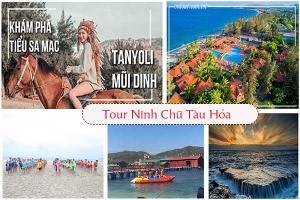 Tour du lịch Ninh Chữ Vĩnh Hy bằng tàu lửa
