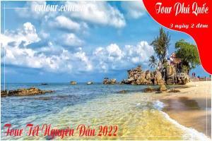Tour du lịch Phú Quốc Tết Nguyên Đán -3 ngày 2 đêm Máy bay