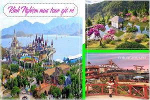 Liên tuyến Nha Trang Đà lạt - Kinh nghiệm mua tour giá rẻ