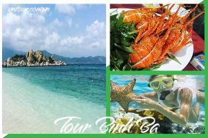 Tour du lịch Bình Ba 2 ngày 2 đêm Đảo Tôm Hùm