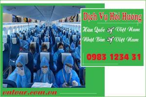 Dịch vụ hồi hương từ Hàn, Nhật về Việt Nam uy tín, giá rẻ