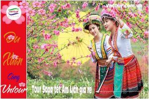 Tour du lịch Sapa (4N3Đ) tết Âm Lịch 2022 giá rẻ